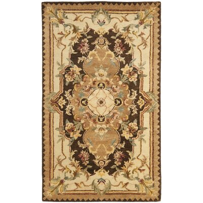 Bedgood Brown/Beige Area Rug Rug Size: Rectangle 3 x 5
