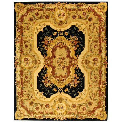 Bedgood Navy/Beige Area Rug Rug Size: Rectangle 96 x 136