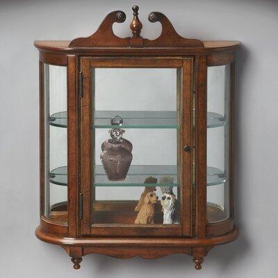 Bedingfield Wall-Mounted Curio Cabinet