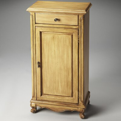 Beedle 1 Drawer Side Door Chest Finish: Butler Hallmark