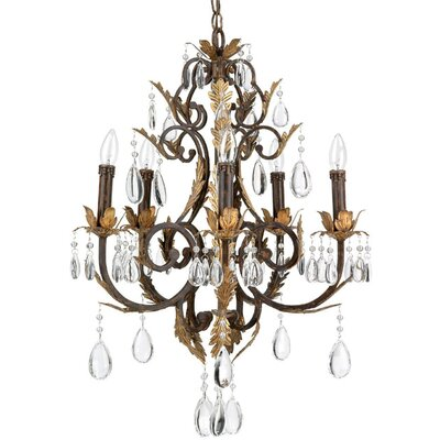 Charlesworth 5-Light Crystal Chandelier