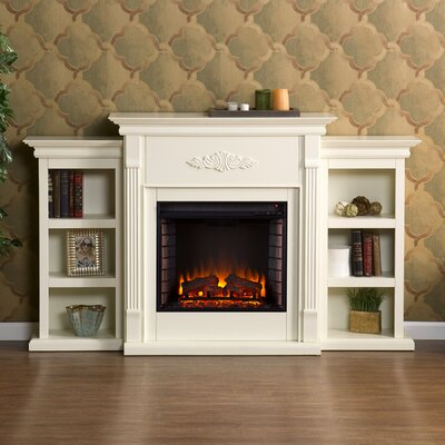 Beeley Electric Fireplace Finish: Antique Ivory