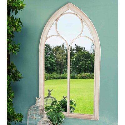 Windowpane Style Garden Mirror