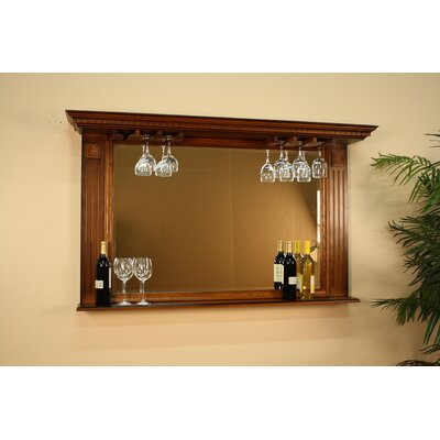Rectangle Vintage Oak Kokomo Mirror