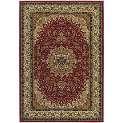Belcourt Red Area Rug Rug Size: Runner 27 x 710
