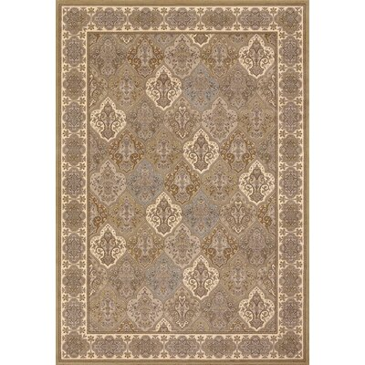 Belden Caramel Area Rug Rug Size: Rectangle 92 x 125