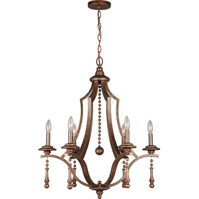 Belding 6-Light Candle-Style Chandelier