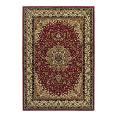 Belcourt Royal Kashan Red/Brown Area Rug Rug Size: 2 x 311