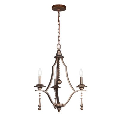 Belding 3-Light Candle-Style Chandelier