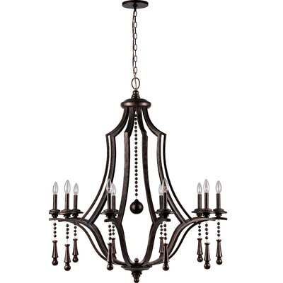 Belding 10-Light Candle-Style Chandelier