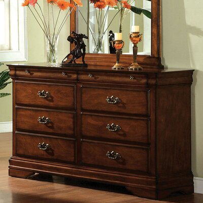 Clemence 6 Drawer Dresser