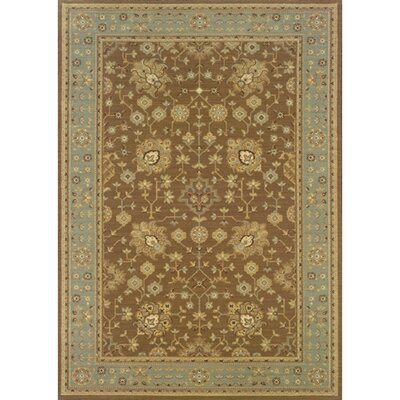 Coar Beige/Blue Area Rug Rug Size: Rectangle 710 x 112