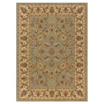 Coar Blue/Ivory Area Rug Rug Size: Rectangle 4 x 51