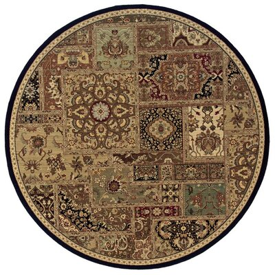 Coar Beige/Black Area Rug Rug Size: Rectangle 710 x 112