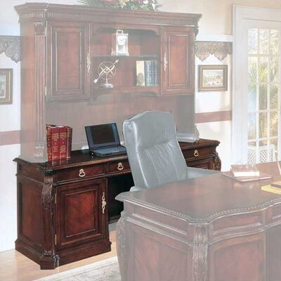 Drumankelly Executive Desk with 3 Drawers