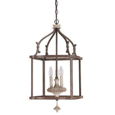 Drumboe 3-Light Foyer Pendant