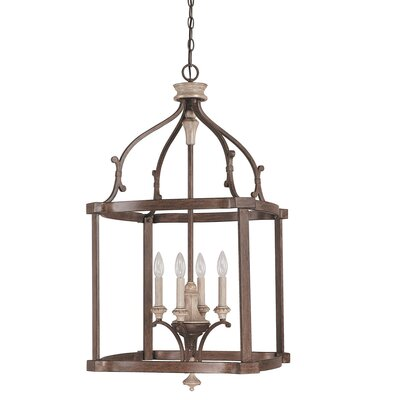 Drumboe 4-Light Foyer Pendant