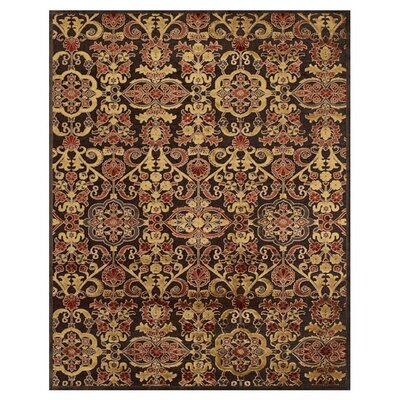 Dunadry Brown Area Rug Rug Size: Rectangle 76 x 106