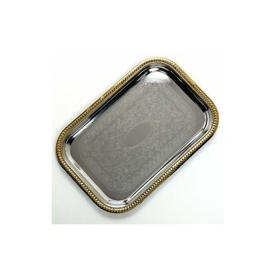 Rectangular Carbon Steel Serving Tray (Set of 12)