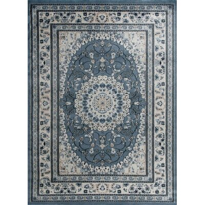 Gwinn Blue Indoor/Outdoor Area Rug Rug Size: 8 x 10
