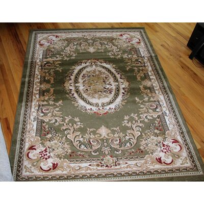 Gwinn Green Indoor/Outdoor Area Rug Rug Size: 2 x 3
