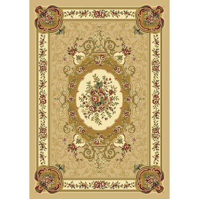 Gwinn Beige Indoor/Outdoor Area Rug Rug Size: 5' x 7'