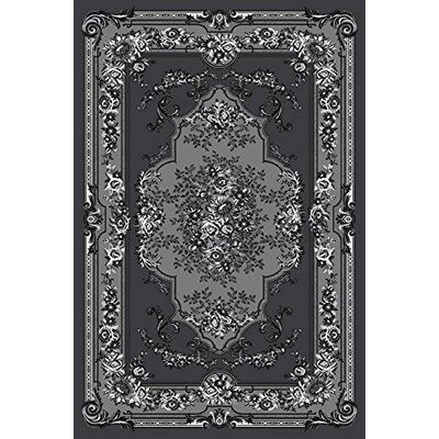 Gwinn Gray Indoor/Outdoor Area Rug Rug Size: 5' x 7'