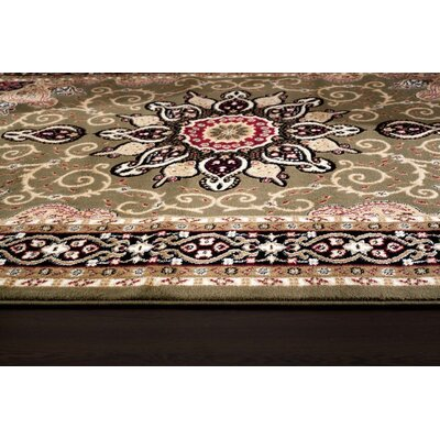 Gwinn Green Indoor/Outdoor Area Rug Rug Size: 8 x 10
