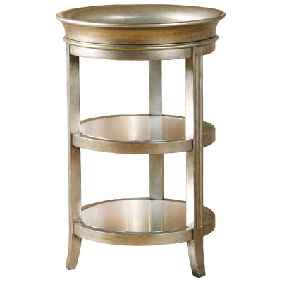Salkeld Three Shelf End Table