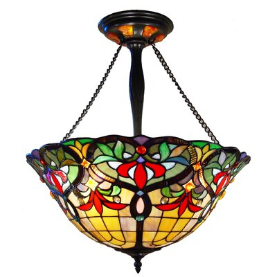 Hackmore 3-Light Bowl Pendant