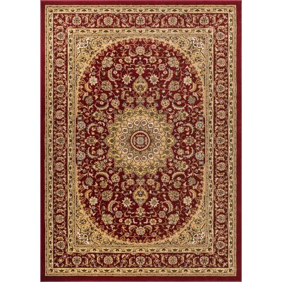 Colindale Red Area Rug Rug Size: 710 x 106