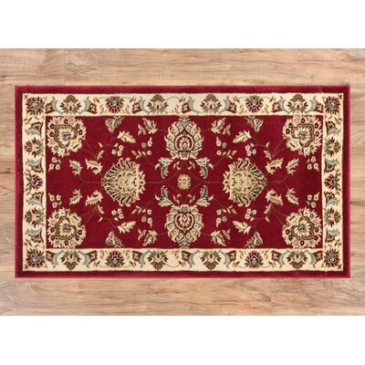 Colindale Red Area Rug Rug Size: 23 x 311