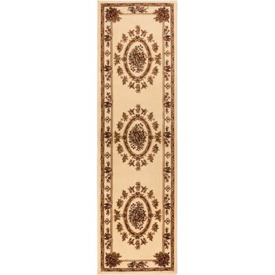 Colindale Ivory Area Rug Rug Size: 1011 x 15