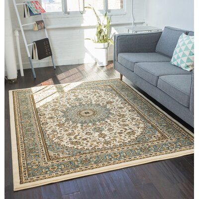 Colindale Ivory Area Rug Rug Size: 311 x 53