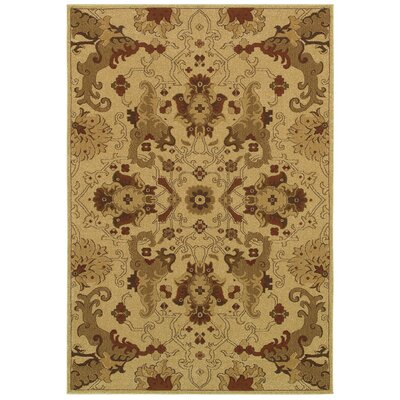Lerwick Beige Area Rug Rug Size: Rectangle 99 x 13