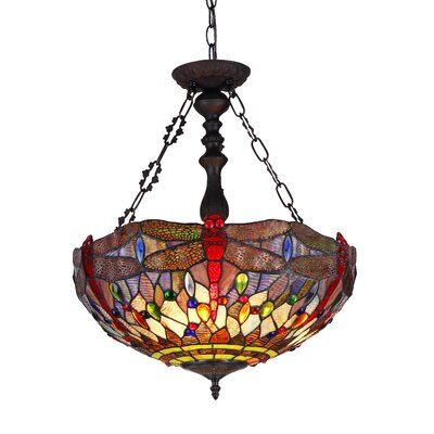 Henager 2-Light Inverted Pendant