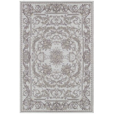 Jamison Gray Area Rug Rug Size: Rectangle 81 x 112