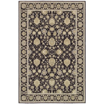 Jamison Black/Beige Area Rug Rug Size: Rectangle 23 x 311