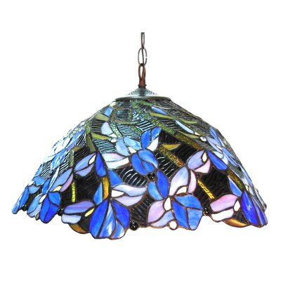 Hughes 2-Light Inverted Pendant