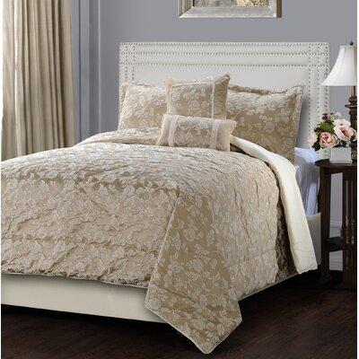 Hazelton 5 Piece Comforter Set Size: Queen