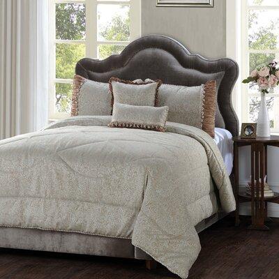 Hazelton 5 Piece Comforter Set Size: King