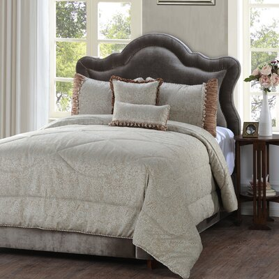Hazelton 5 Piece Comforter Set Size: Queen