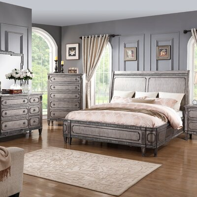 Bastion Sleigh Bed Size: Queen