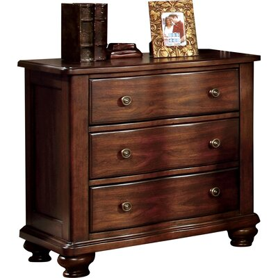 Harrelson 3 Drawer Bachelors Nightstand