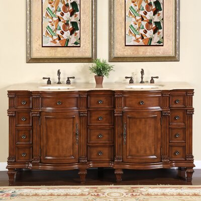 Hartell 72 Double Bathroom Vanity Set