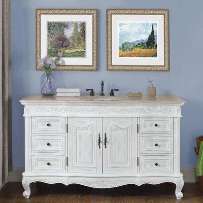 Haslett 60 Single Bathroom Vanity Set
