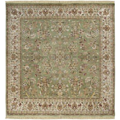 Barlett Olive Rug Rug Size: Square 8