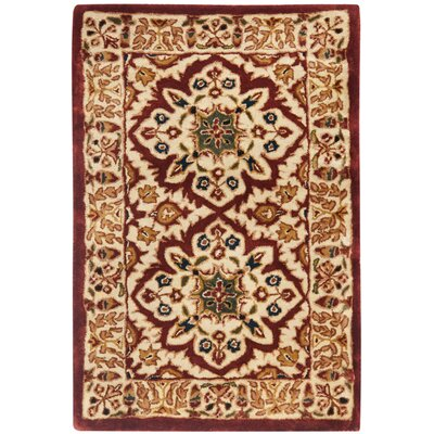 Empress Beige Rug Rug Size: Rectangle 2 x 3