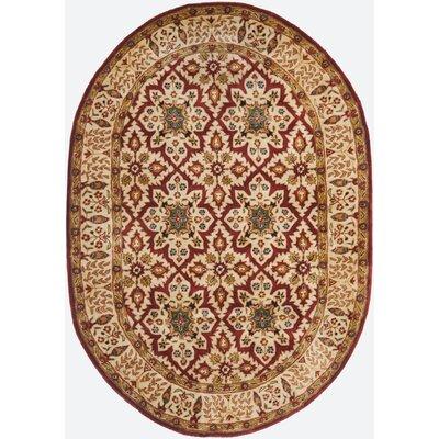 Empress Beige Rug Rug Size: Oval 46 x 66