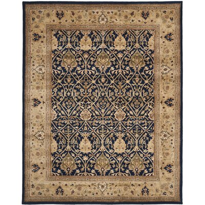 Empress Hand-Tufted Wool Brown Area Rug Rug Size: Rectangle 26 x 4